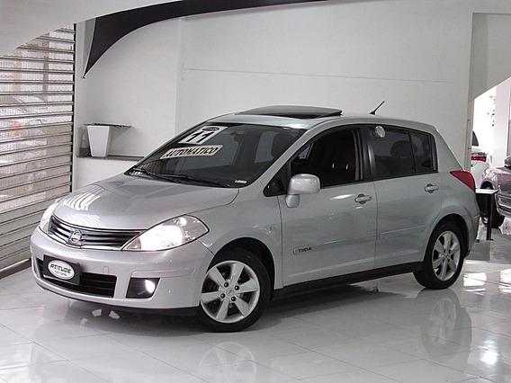 Nissan Tiida 1.8 Sl 16v Flex 4p Automático 2011 Teto Solar