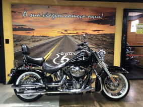 Harley Davidson Deluxe 2007 Preta Impecável
