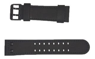 Malla Reloj Cat Camden 48 Mm Ni.169 Hebilla Color Negro