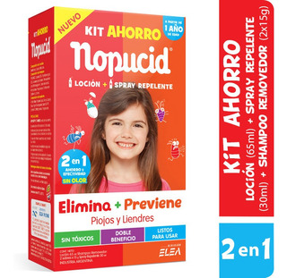 Nopucid Kit Ahorro: Locion + Spray Repelente