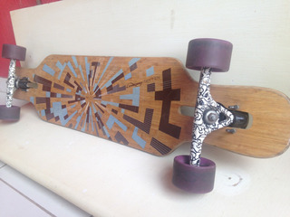 Longboard Loaded Tan Tien Ed. Limitada Skate