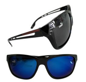Óculos De Sol Puma Masculino Espelhado Várias Cores +estojo