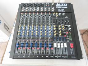 Mesa De Som Mixer Profissional Alto Zmx 124 Fxu Usb- Hendrix