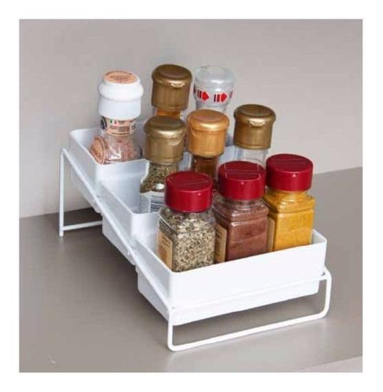 Porta Condimentos Organizador De Cocina Metaltru