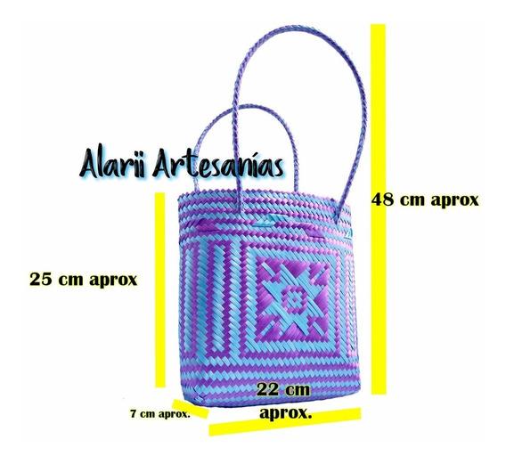 Bolsa Artesanal Mediana, Lote De 10 Piezas