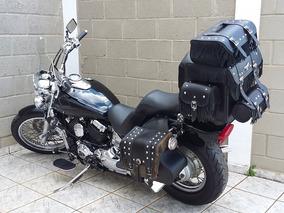 Yamaha Drag Star 650cc Com + De 6 Mil Reais Em Acessórios