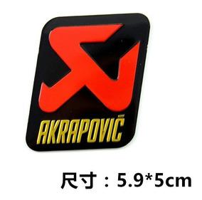 Adesivo Escap Akrapovic Aluminio High Temperature-277