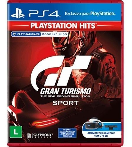 Gran Turismo Sport - Midia Fisica Original E Lacrado - Ps4