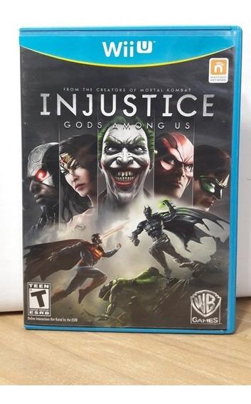 Injustice Gods Among Us Wii U Seminovo