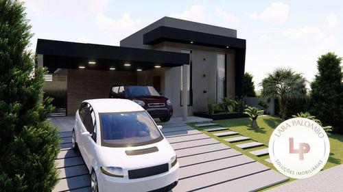 Casa Com 3 Dormitórios À Venda, 130 M² - Condomínio Gran Ville São Venâncio - Itupeva/sp - Ca0268