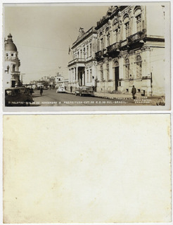 Rs ±1950 Fotopostal Rua 15 De Novembro E Prefeitura Pelotas