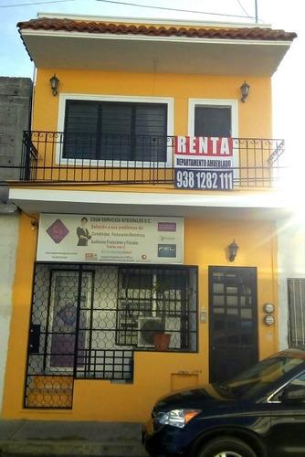 Imagen 1 de 13 de Renta Departamento Amueblado Y Local Comercial En Centro
