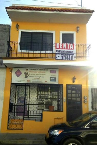 Renta Departamento Amueblado Y Local Comercial En Centro