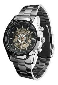 Relógio Masculino Automático Aço Inoxidável