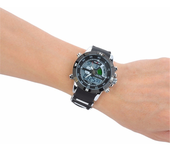 Relógio Pulso Weide Sports Led Digital Wh-1104-1 Promoção