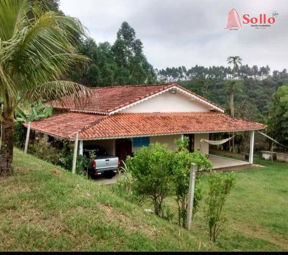 Sítio Com 2 Dormitórios , 48400 M² Por R$ 395.000 - Monte Negro - Santa Isabel/sp - Si0001
