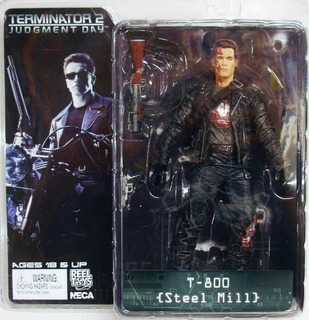Terminator 2 Figura Judgment Day T-800 Steel Mill