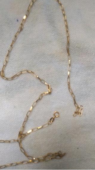 Cordão De Ouro 18k 50 Centímetros 4 Gramas