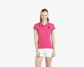 Playera American Polo Rosa Pr-3648272