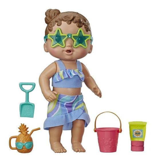 Boneca Baby Alive Sol E Areia Morena - Hasbro E8718