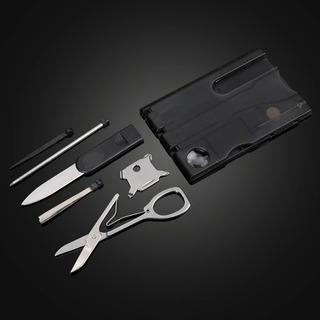 Kit Com 4 Unidades Do Cartão Canivete 12 Em 1 Utilidades