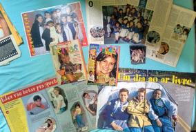 Lote De Revistas E Recortes Chiquititas 1998