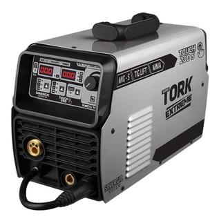 Máquina De Solda Mig/mma/tig 200a Imets-11200 Supertork 220v