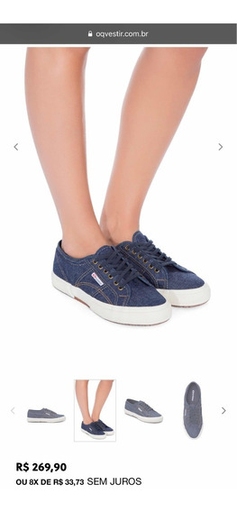 Superga Azul Jeans
