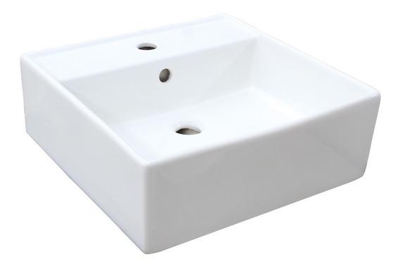 Ovalin Lavabo Cuadrado Moderno De Sobreponer Mod. Tos-01
