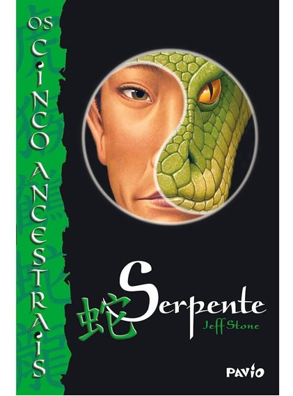 Livro - Serpente - Os Cinco Ancestrais - Volume 3