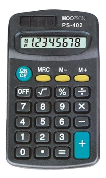 Calculadora De Bolso Basica Ps 402 Hoopson