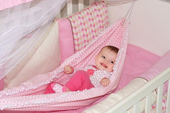 Rede De Berço Para Bebê Menino E Menina 100% Algodão