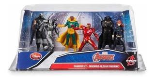 Figuras De Ação - Vingadores - Playset - Original