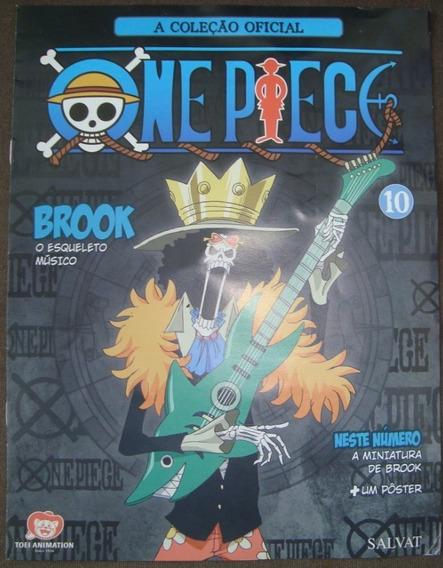 One Piece - A Coleção Oficial- Encarte 1- Brook- Com Poster