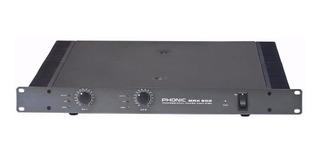 Phonic Max500 Potencia Amplificador 240 Watts 1 Unidad Rack