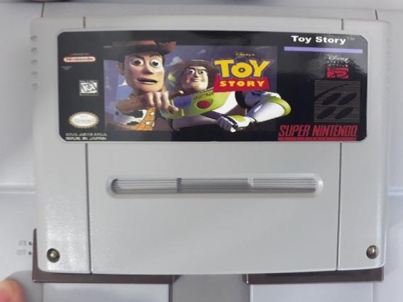 Cartucho De Super Nintendo Toy Story