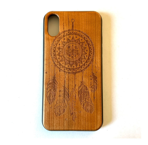 Funda iPhone X Y iPhone Xs Case Madera Grabada