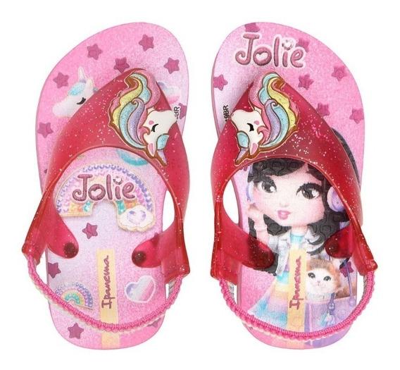 Chinelo Infantil Jolie Baby 26215 Grendene Kids