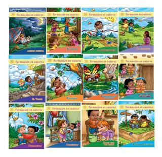 Formación En Valores: 3 Juegos De Libros (36 En Total)