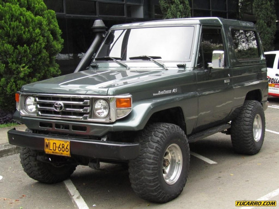 Toyota Land Cruiser Carevaca 4500 Cc Mt