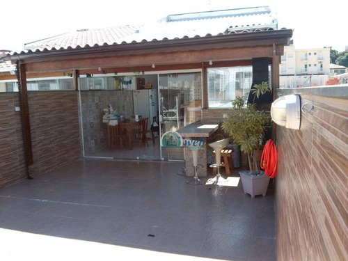 Cobertura Duplex Com 3 Dormitórios À Venda, 152 M² Por R$ 580.000 - Utinga - Santo André/sp - Co0350