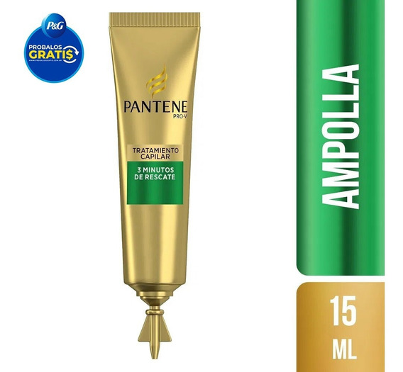 Ampolla Capital Tratamiento Rescate Pantene 3 Minutos 15 Ml