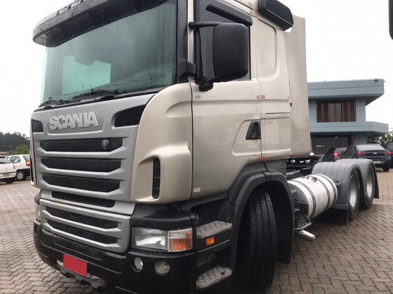 Scania R 420 - 6x4 - 2011 - Primeiro Caminhão