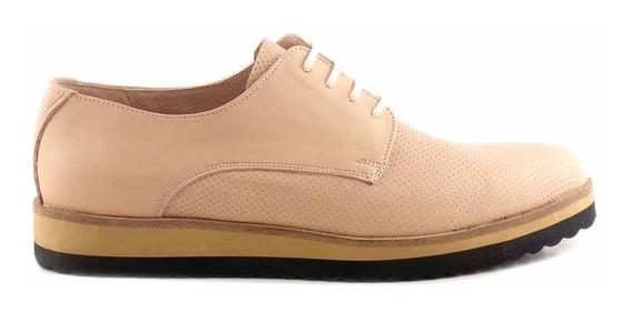 Abotinado Zapato Mujer Cuero Briganti Mocasin - Mccha2974