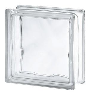 Ladrillos De Vidrio Transparentes Vitroblock Nube 19x19