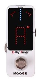 Pedal Mooer Baby Tuner Afinador - Não É Polytune - Envio 24h