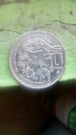 2monedas, Una De 50 Pesos Año 1983 Y Cinco Pesos Año 1977