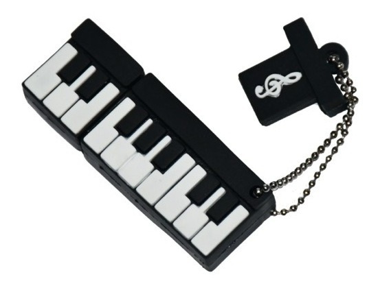 Memorias Usb 32gb Con Figuras De Instrumentos Musicales