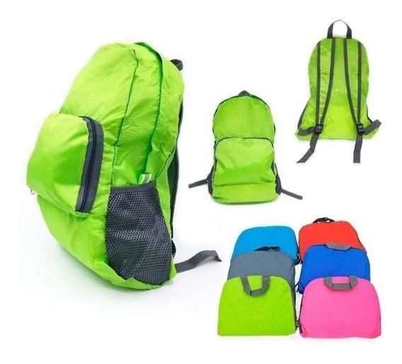 Mochila De Viaje Plegable Ideal Para Viajes O Campings