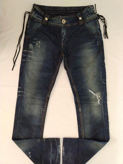 Calça Jeans Zoomp Feminina 40 Skinny Promoção Única Original